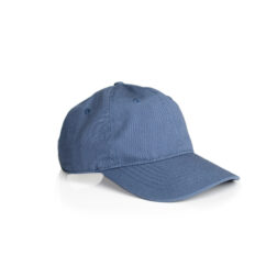 DAVIE SIX PANEL CAP - HARBOUR BLUE