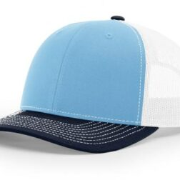 112 ›› TWILL/MESH ›› SNAPBACK BLUE-WHITE-NAVY