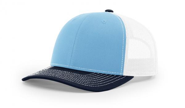 340e25a4567 112 ›› TWILL MESH ›› SNAPBACK BLUE-WHITE-NAVY - Nublank Caps