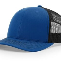 112 TWILL/MESH SNAPBACK SPLIT ROYAL/BLACK