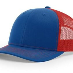 112 ›› TWILL/MESH ›› SNAPBACK ROYAL-RED