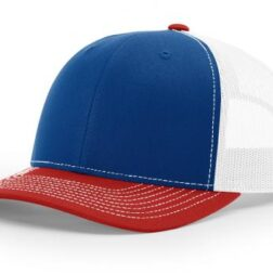 112 ›› TWILL/MESH ›› SNAPBACK ROYAL-WHITE-RED