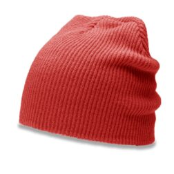 RICHARDSON 147 SLOUCH KNIT BEANIE - RED