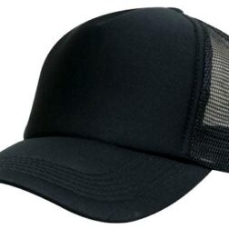 Kids Trucker Mesh Cap - Black