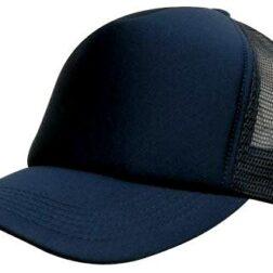 Kids Trucker Mesh Cap - Navy