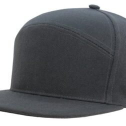 A Frame American Twill Structured 6 Panel - Charcoal