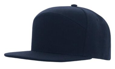 A Frame American Twill Structured 6 Panel - Navy