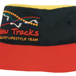 Breathable Poly Twill Multi Coloured Bucket Hat