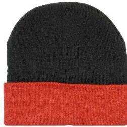 HP Arcylic Beanie - Black - Red