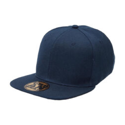 Byron Youth Snapback Trucker - NAVY flat peak