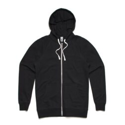 MENS TRACTION ZIP HOOD - BLACK