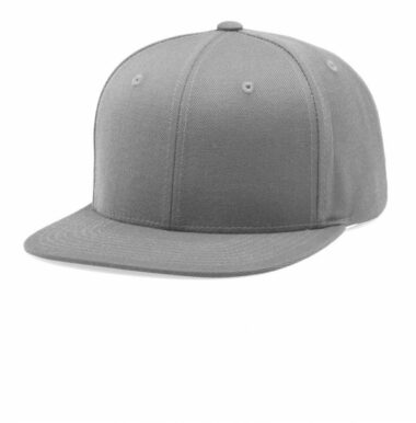 510 Flat Bill Snapback Grey Nublank Caps