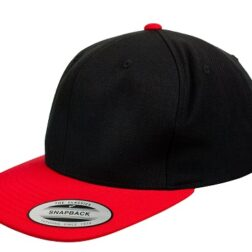 Yupoong Classic Snapback Red/Black – Toddler
