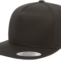 YUPOONG CLASSIC 5 PANEL MODEL # 6007 - BLACK