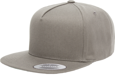 YUPOONG CLASSIC 5 PANEL MODEL # 6007 - GREY