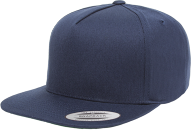 YUPOONG CLASSIC 5 PANEL MODEL # 6007 - NAVY