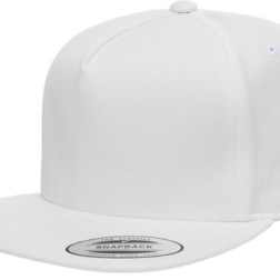 YUPOONG CLASSIC 5 PANEL MODEL # 6007 - WHITE