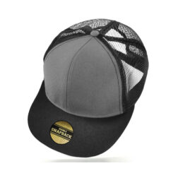Cooly Snap - Kids Cap - Grey/Black