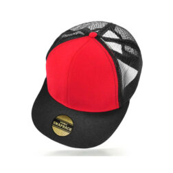 Cooly Snap - Kids Cap - Red/Black
