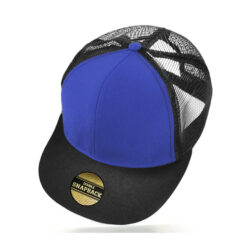Cooly Snap - Kids Cap - Royal/Black