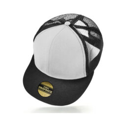 Cooly Snap - Kids Cap - White/Black