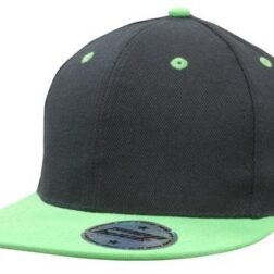 Newport Youth Size Black/Green Premium American Twill with Snap Back