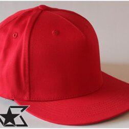Nublank - RED FLAT BRIM Snapback